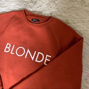 Brunette the Label Blonde Crewneck